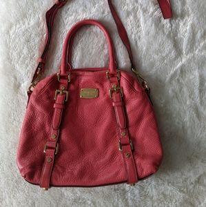 Coral pink Michael Kors bag